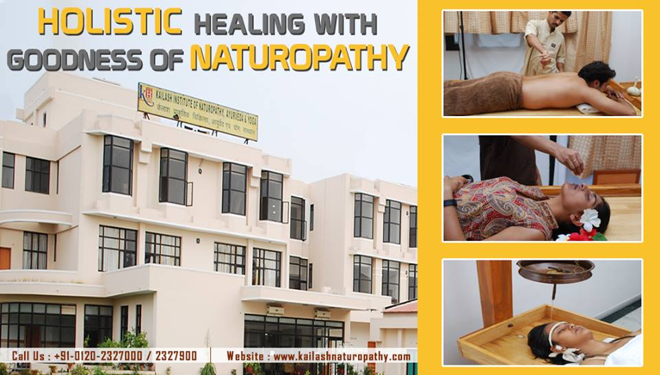 Get holistic Naturopathy healing with Goodness of Nature at KINAY.