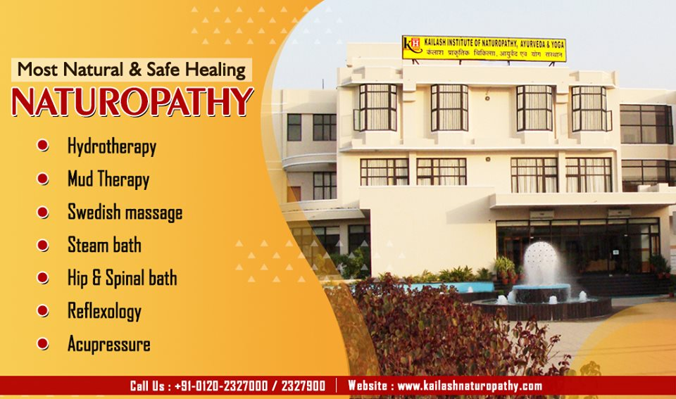 Get the most natural & authentic healing through Naturopathy Therapies at KINAY