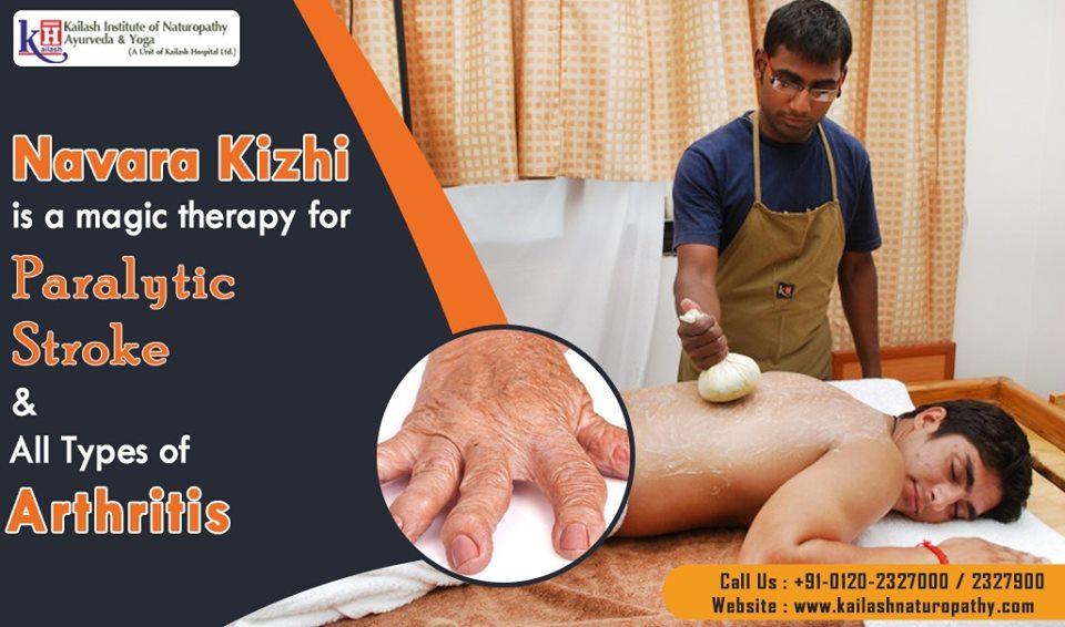Navara Kizhi is an effective Ayurveda treatment for all Neuro disorders, Paralysis, Stroke & Arthritis.