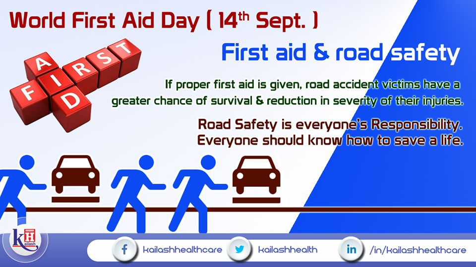 Proper First Aid on time, is the first step towards saving a life injured in any accident & severity.