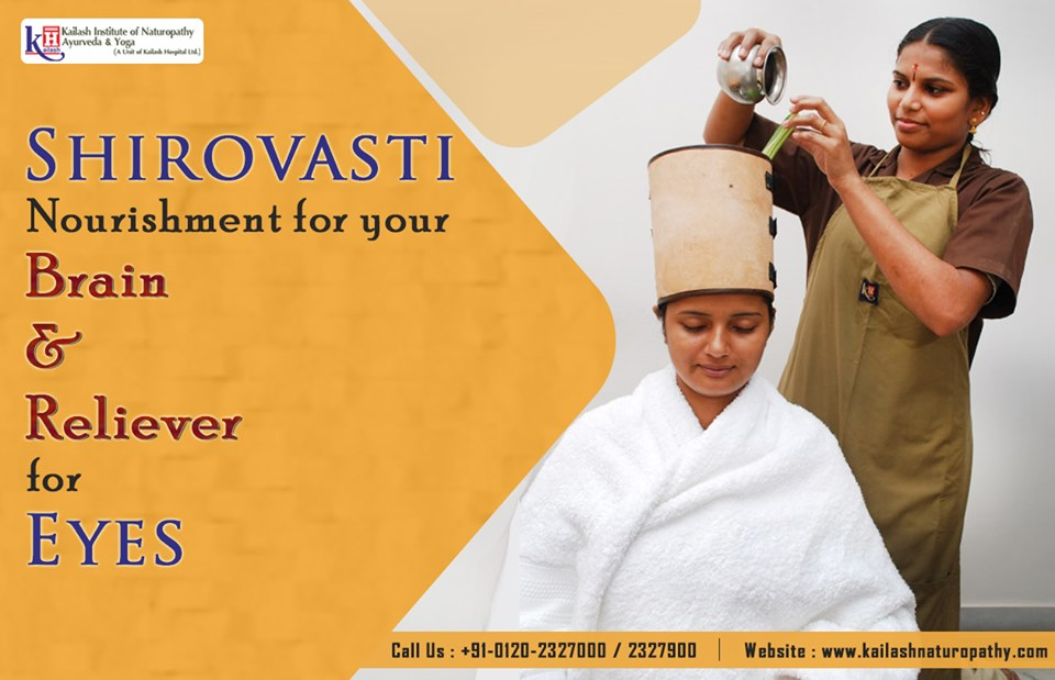 Shirovasti is a natural & Ayurvedic treatment for your brain & vision disorders