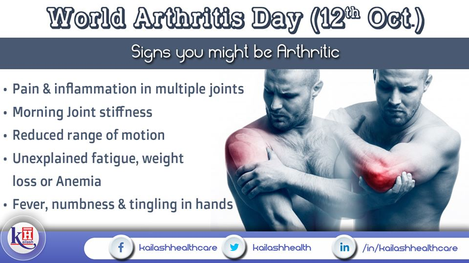Experiencing regular joint pain & stiffness every morning? You may have Arthritis. Get checked.