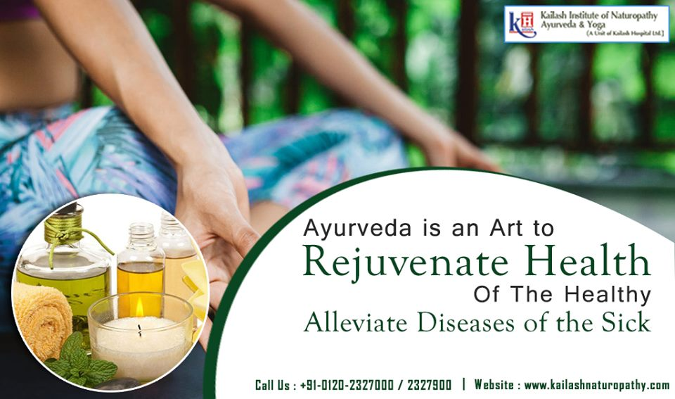 Ayurveda not only just rejuvenates health but also cures all types of diseases naturally