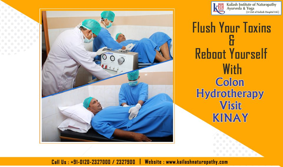 Detoxify your body system & restore your digestive health through effective Colon Hydrotherapy at KINAY.