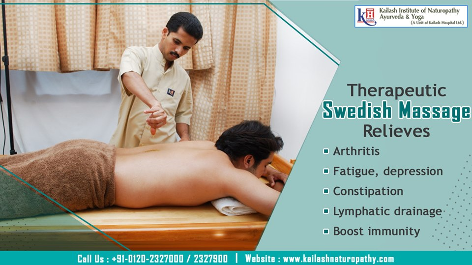 Experience Swedish Massage Therapy to relieve all types of Joint pains, Arthritis stiffness & Constipation naturally.