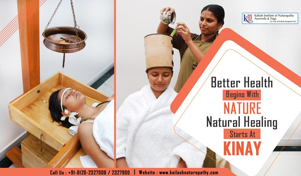 Experience natural healing & healthy well-being through Naturopathy therapies at KINAY.