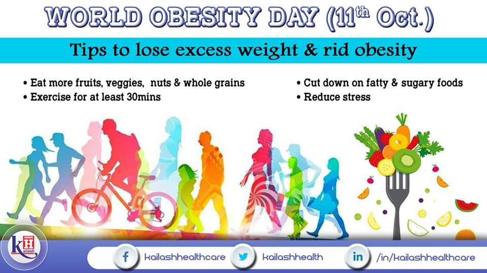Here are some important tips to maintain healthy weight & get rid off Obesity.