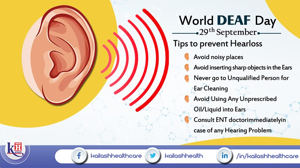 Here are some important tips to prevent hearing loss or deafness.