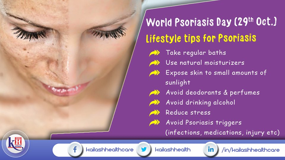 Psoriasis can be treated & managed through healthy lifestyle changes. For complex Psoriatic conditions, consult our Skin Specialists.