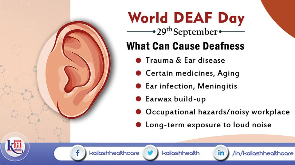 There may be many conditions causing Hearing loss. Take preventive measures to keep your hearing safe.