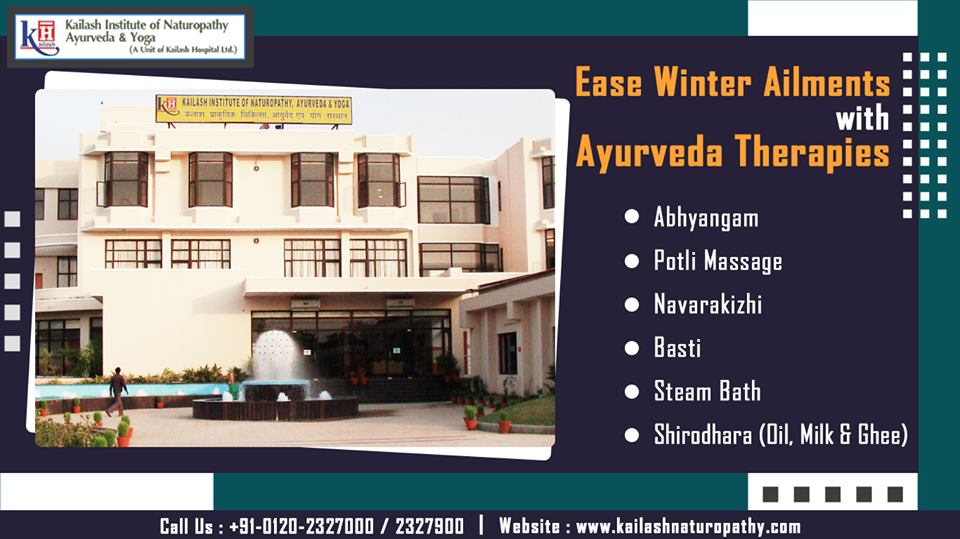 This Winter, experience Ayurveda therapies for healing your seasonal health problems naturally.