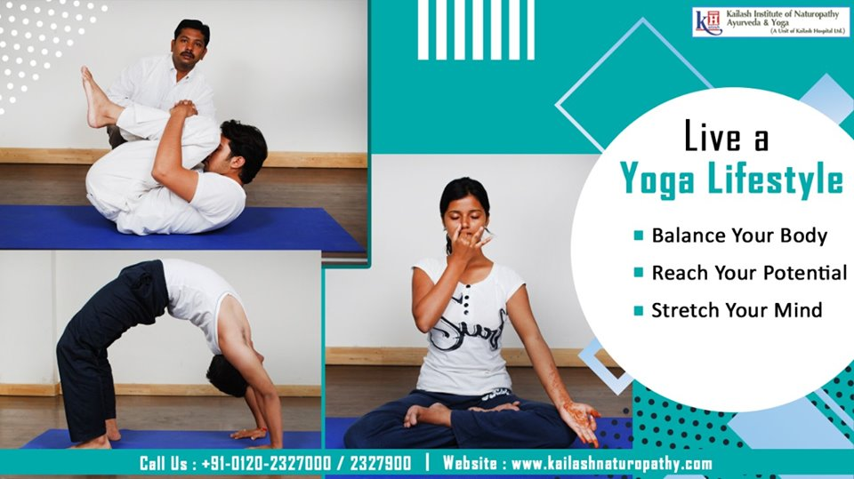 Yoga balances your body & nourishes your brain for an enhanced healthy lifestyle. Live a Yoga Lifestyle!