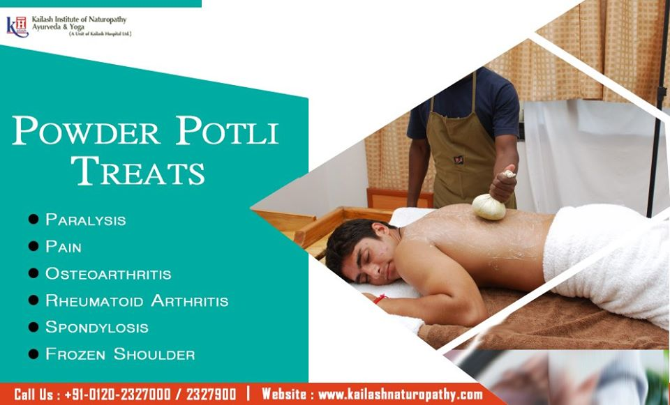 Ayurveda Powder Potli treats arthritic joint problems & body pain naturally just with therapy.