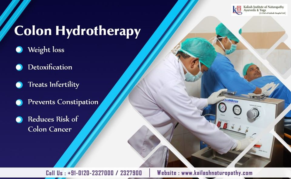 Colon Hydrotherapy is the best Detoxification therapy to relieve constipation & digestive disorders.