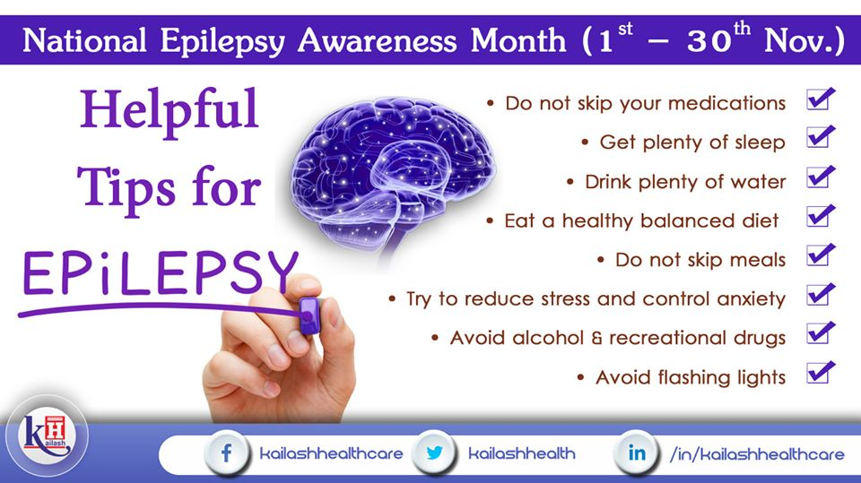 Here are some healthy lifestyle tips to manage Epilepsy & avoid related complications.