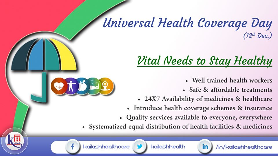 Everyone has the right to get universal health coverage with 24/7 quality healthcare services & medicines.
