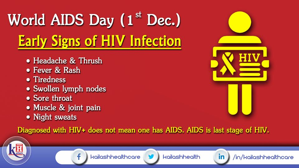 HIV+ infection if left undiagnosed can later lead to AIDS. Know about its early signs & take medical help.HIV+ infection if left undiagnosed can later lead to AIDS. Know about its early signs & take medical help.