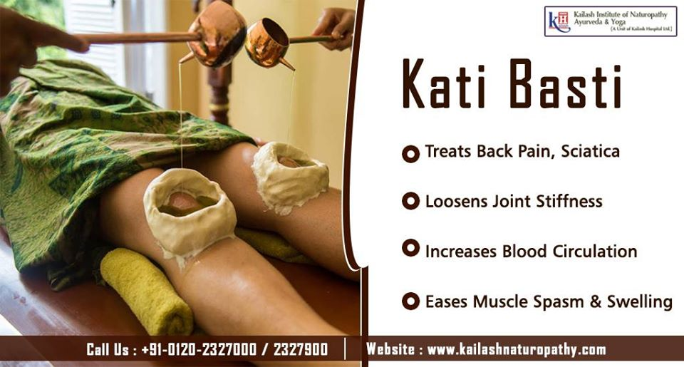 Kati Basti is an effective natural solution for Joint pain & muscle spasm Call on : 0120-2321000 / 2327900