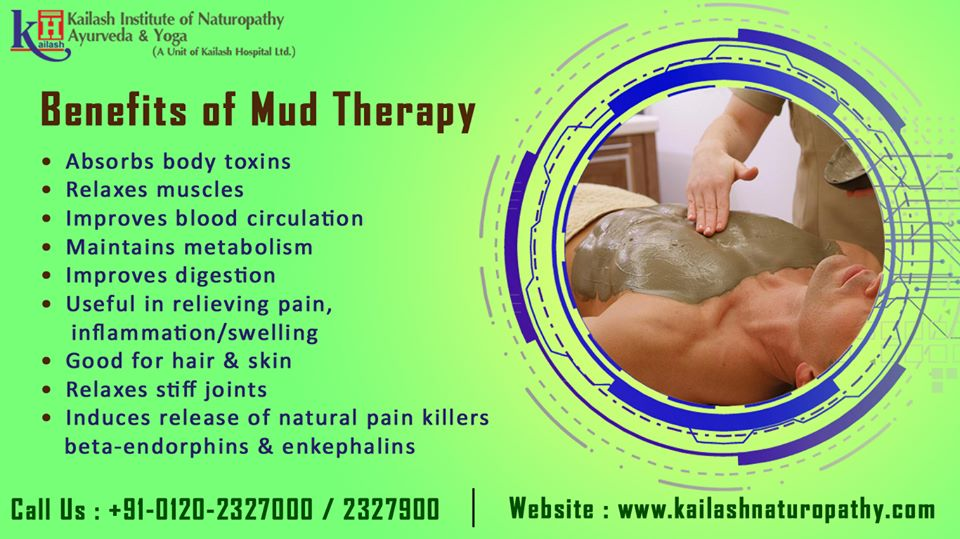 Mud Therapy is the best Naturopathic way to remove body toxins, improve metabolism & blood circulation naturally.