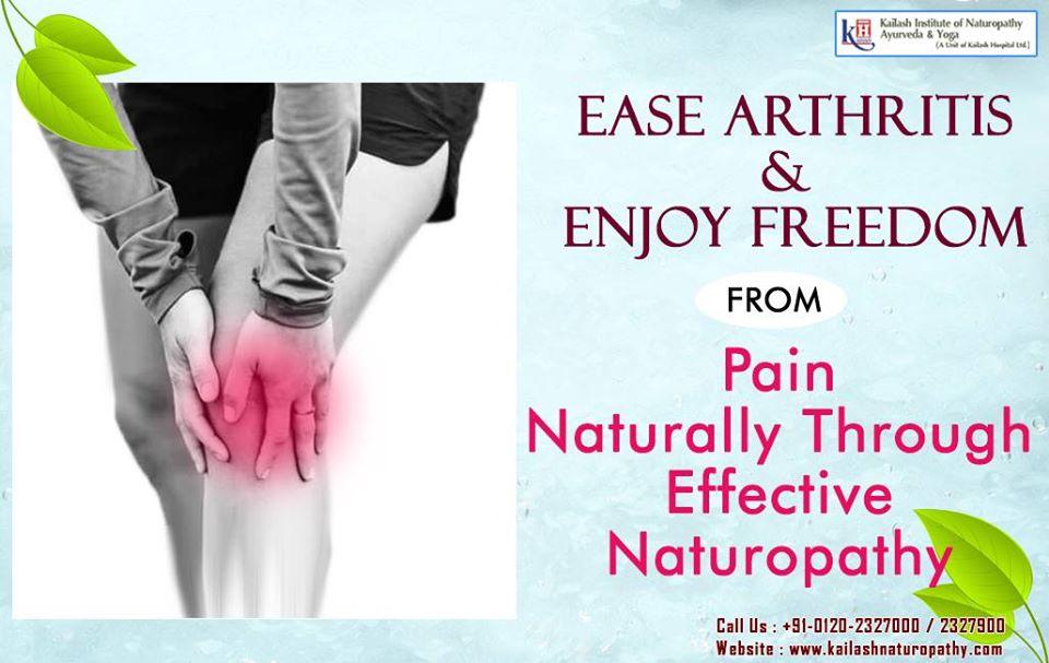 Naturopathy has an effective & Natural Treatment to ease Chronic Arthritis Pain.