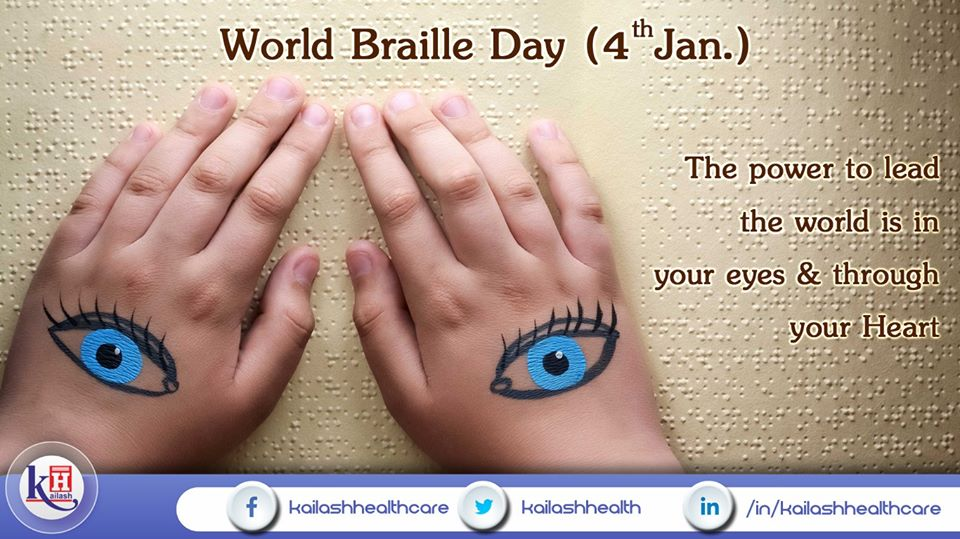 Braille opens the window to the World for blind and visually impaired people to read, write & excel.