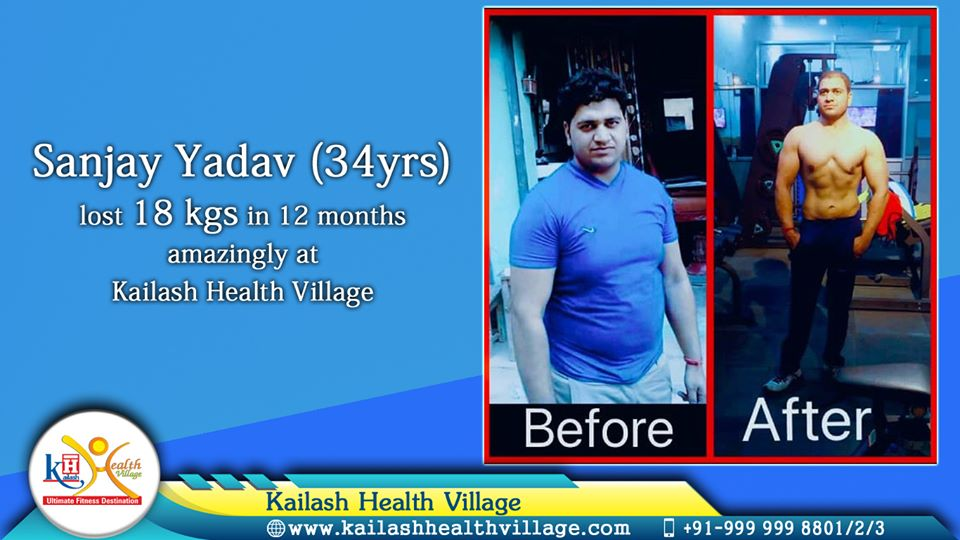 Kailash Health Village, Noida has been helping fitness lovers regain their confidence & rebuild personality through organized fitness & wellness programs