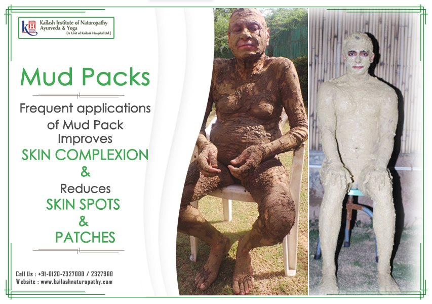 Other than Skin benefits, Mud pack applied to abdomen relieves indigestion, intestinal heat & When applied to head relieves congestive headache & pain immediately.