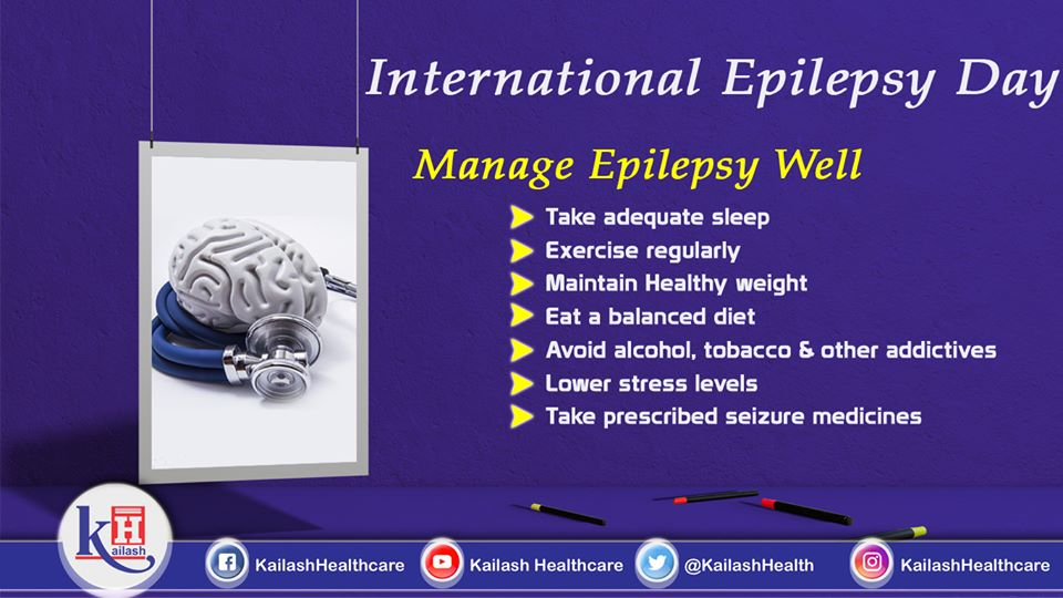 Epilepsy conditions can be well managed through healthy lifestyle habits.