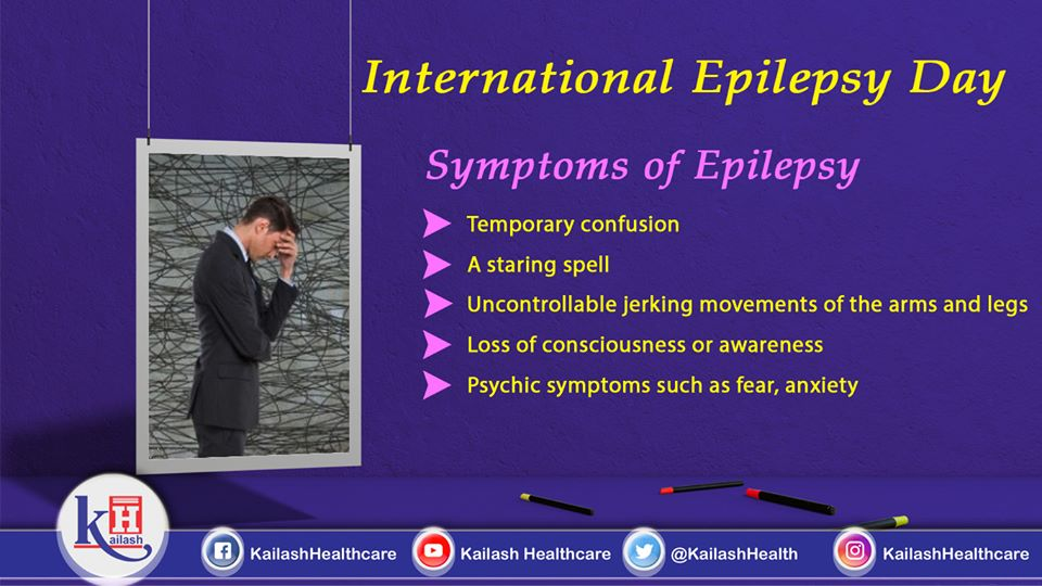 If you suffer seizure or any of these symptoms of Epilepsy, consult our Expert Neurologists at Kailash Hospital.