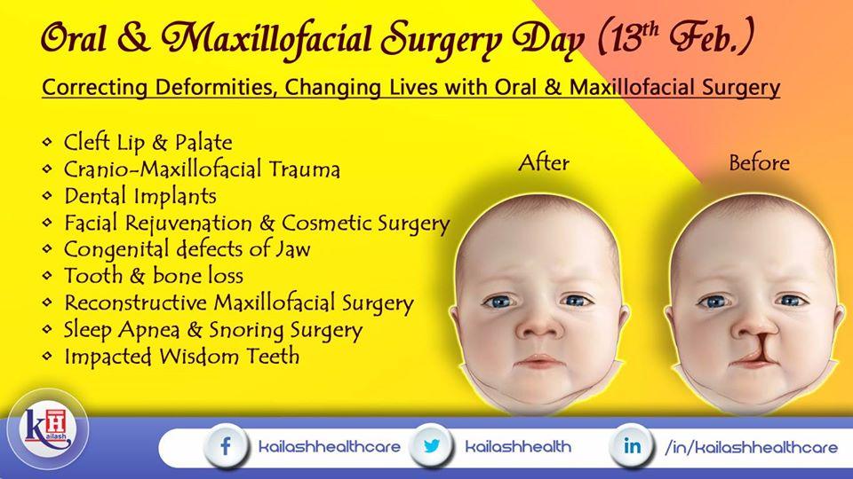 Oral & Maxillofacial Surgery can help correct congenital defects, injuries & many deformities.