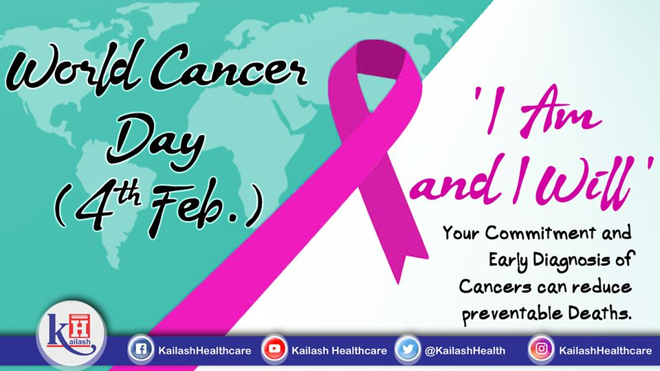 This World Cancer Day, pledge to beat Cancer & reduce preventable Deaths with its Early Diagnosis & treatment.