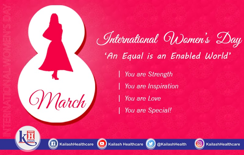 Women in any role are symbol of Love, Affection, Power & Strength. Respect & Empower them. Happy International Women's Day