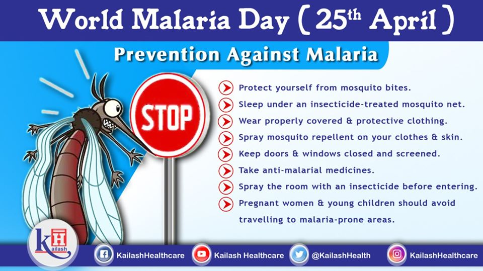 Best way to prevent Malaria is avoiding mosquito bites. Take precautions to be safe!