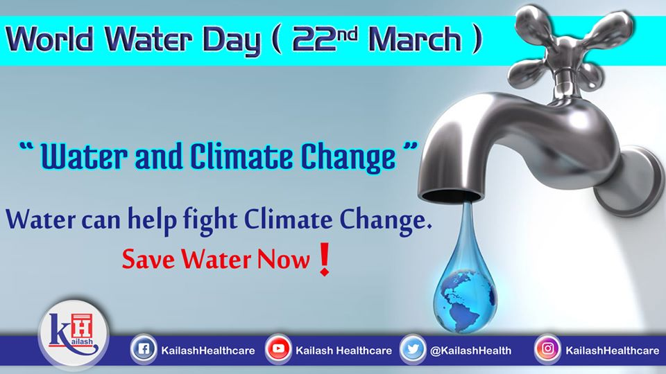 Climate Change is a major issue in the current scenario. Conserve Water to fight Climate Change.