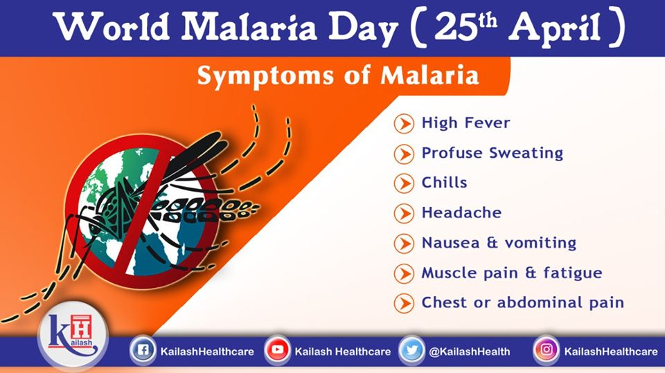 Malarial symptoms are different from viral fevers. Know the warning signs & seek medical help immediately.