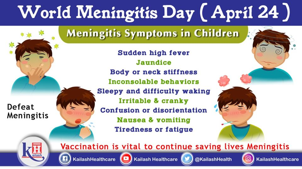 Meningitis is a fatal health problem in children. Vaccination is the best ways to prevent it.