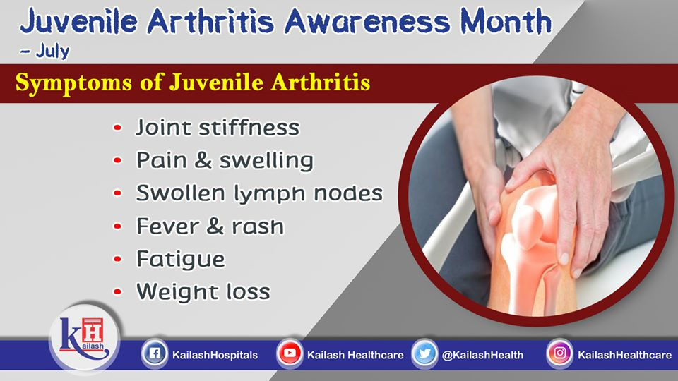 Juvenile arthritis is the most common type of arthritis that affects children under age 16. Early diagnosis of symptoms can help treatment.