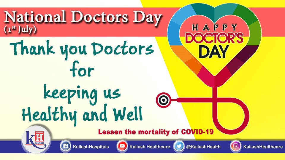 Only a doctor is blessed with the unique power to treat a life, bring health into our lives and to be there with us when we have lost all the hopes. Thank you Doctors. Happy Doctor's Day to the Real Heroes of Life.