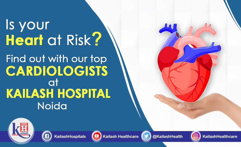 Get comprehensive heart treatments through experienced Cardiologists & advanced equipments at Kailash Hospital Noida.