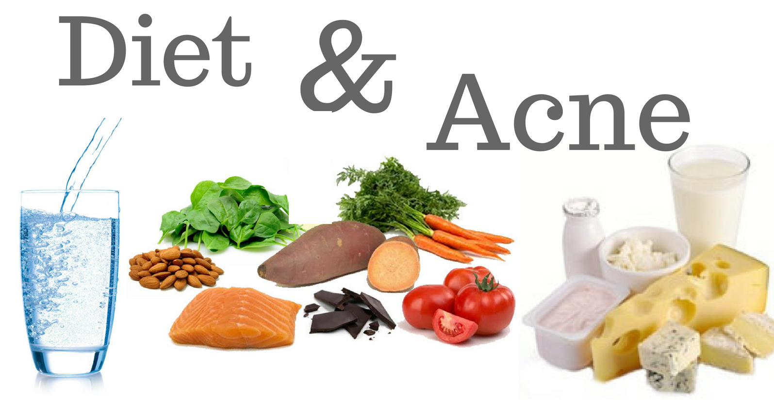 What is the role of diet in acne
