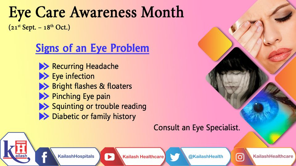 Experiencing frequent eye pain & headache? it might be due to an eye problem. Consult an Eye specialist.