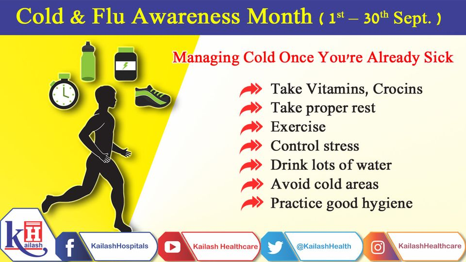 Got cold or flu? Here are some tips to manage your flu symptoms.