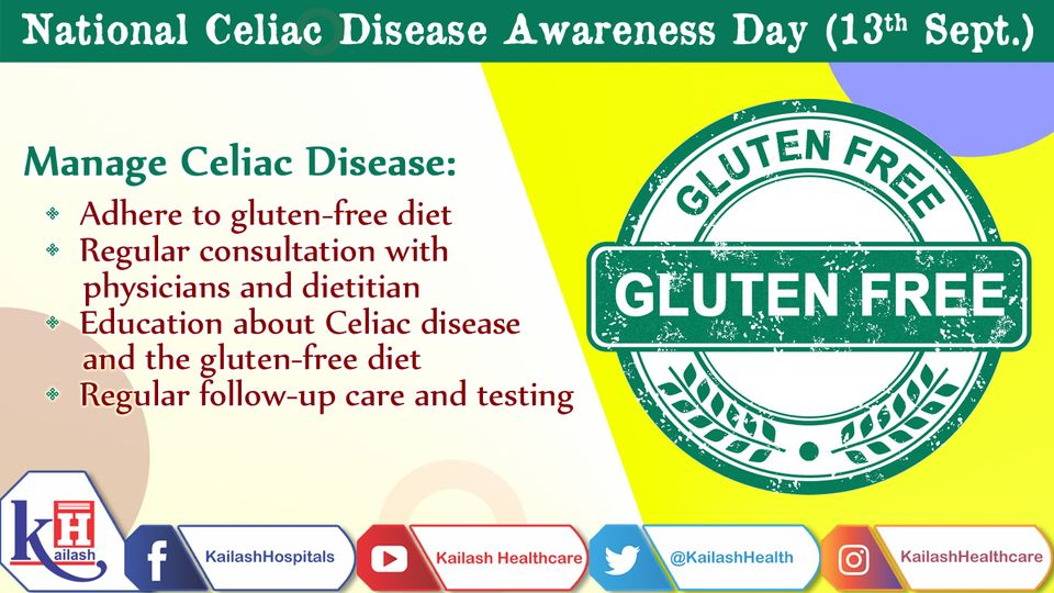 Best management of Celiac disease is to eat a strict gluten-free diet. Here's some tips to help you manage its symptoms, heal intestinal damage & prevent further damage.