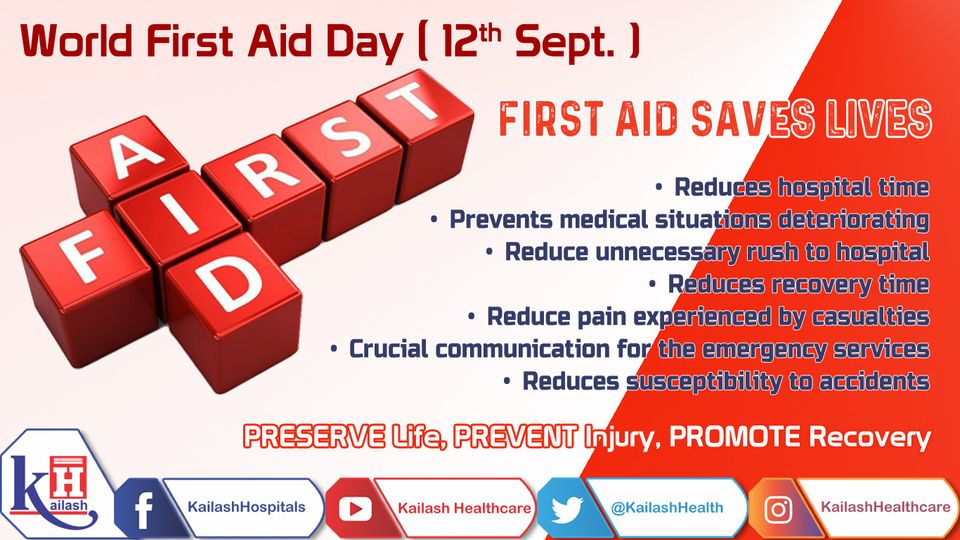 Preserving life is a primary objective of First Aid enabling you to initiate primary help to the injured during an accident or emergency situation until help arrives. Save Lives!