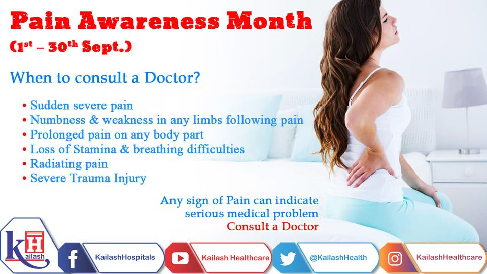Long-term pain could be an indicator of serious underlying health conditions. Know the early signs of pain & consult a Doctor immediately.