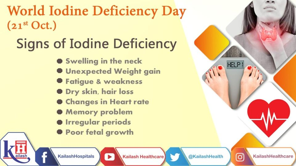 Low levels of iodine are not the only cause of low thyroid function but also an abnormal enlargement of the thyroid gland.
