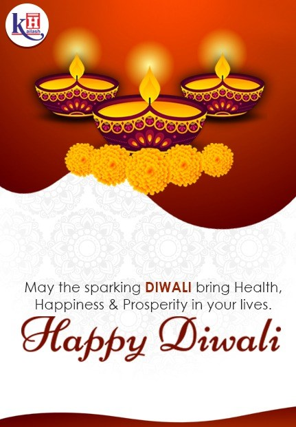 Kailash Hospital wishes you & your family a healthy, prosperous & Happy Diwali.