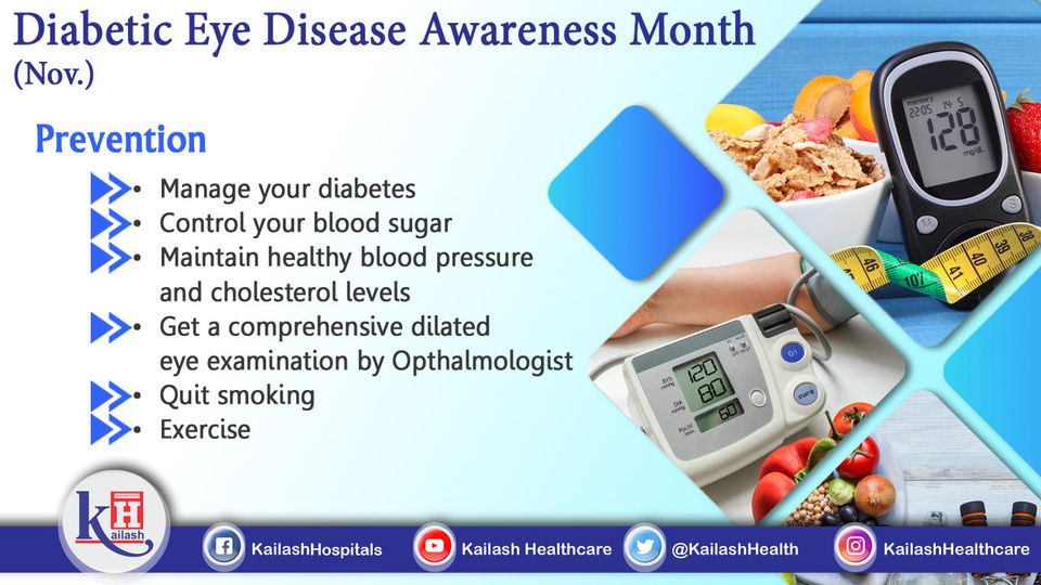 Diabetic retinopathy can be prevented through controlling blood sugar & diabetes. Consult our Ophthalmologist for best advices.