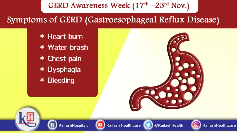 Early diagnosis of Gastroesophageal Reflux Disease can help in better management. Know about the warning signs.