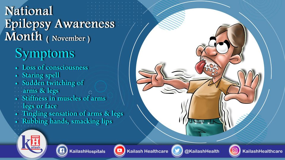 Epilepsy is an Emergency condition so early detection of warning signs can help in timely management.